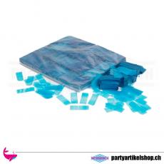 Bio Konfetti - blaues umweltfreundliches Confetti werfen