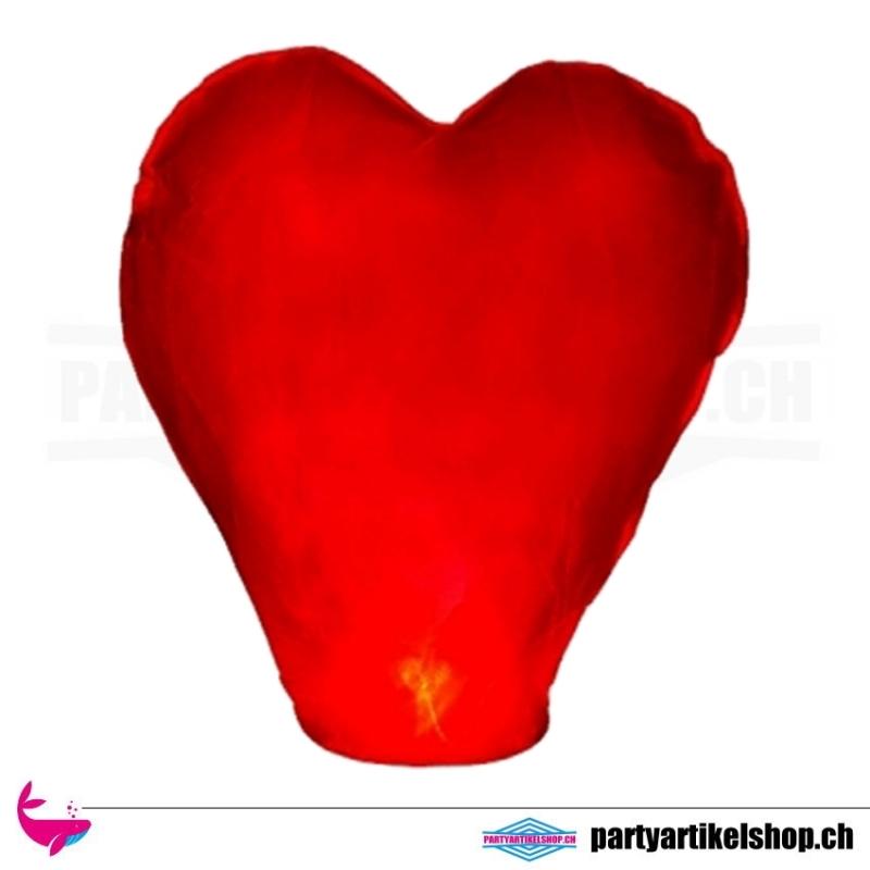 Himmelslaterne *rotes Herz*