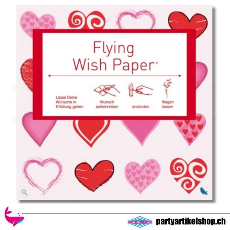 Flying Wish Paper - Motiv Mini Hearts