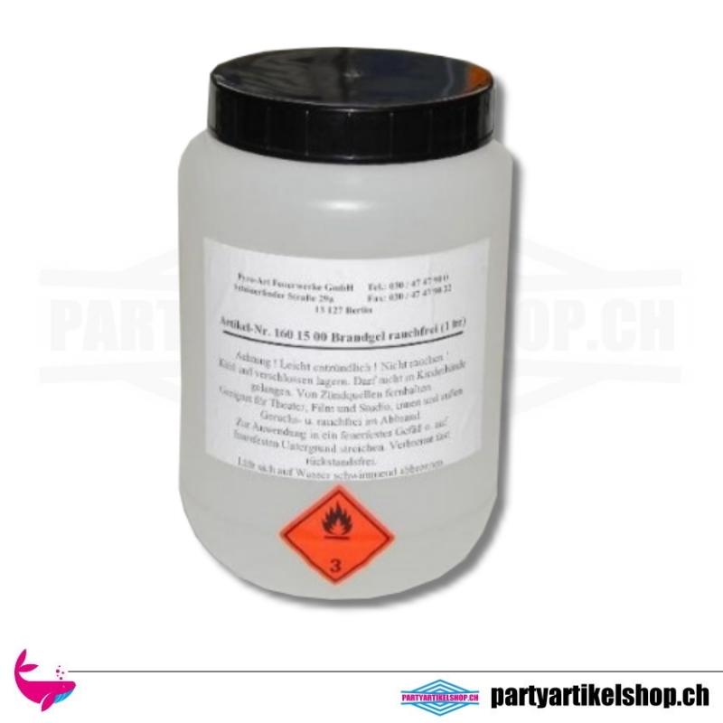 Transparentes PyroGel - 1 Kg - zum füllen von Feuerschalen