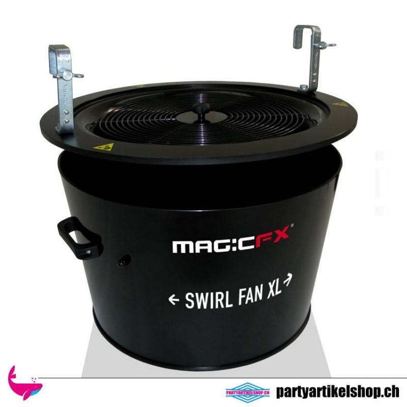 Confetti Swirl Fan XL - Konfettimaschine (Mietgerät)