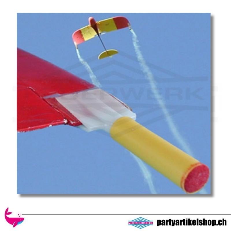 Modellflugzeug Tragflächen Halterung für Rauchpatronen