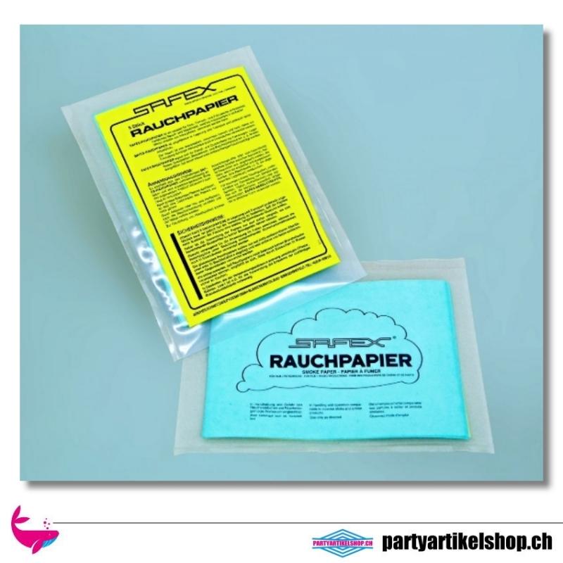 Rauchpapier für Dampf- und Qualmeffekte von Safex