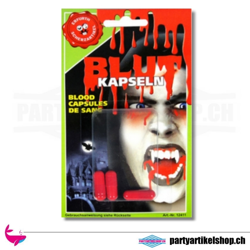 Blutkapseln (Theaterblut)