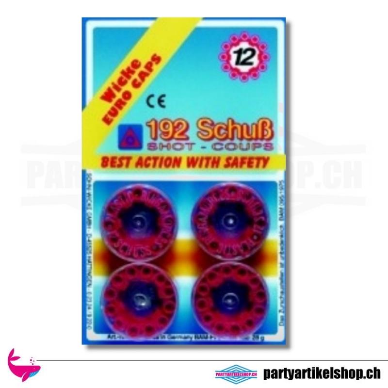 12-Schuss Kunststoff-Ring - Munition für Spielzeugpistolen