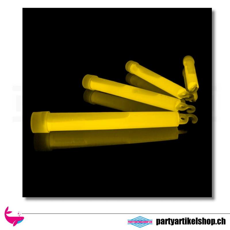 Knicklicht - Leuchtstab in gelb