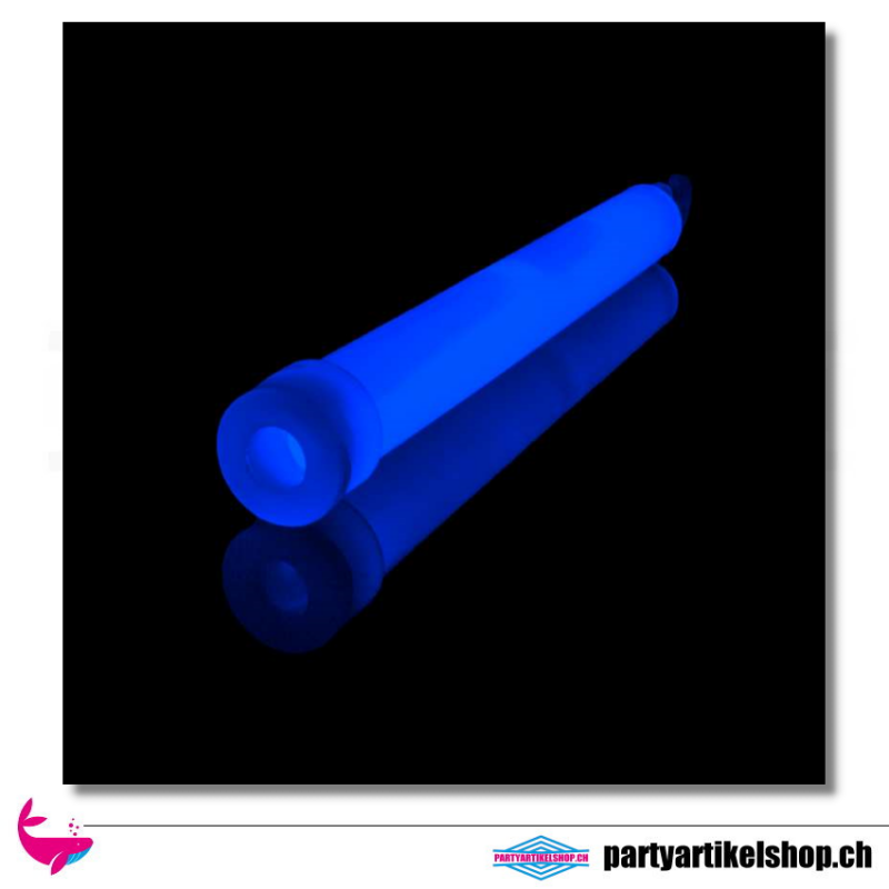 Blaues Knicklicht - Leuchtstab