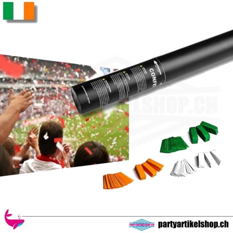 Druckluft Konfetti Schooter *Fan Edition* Irland