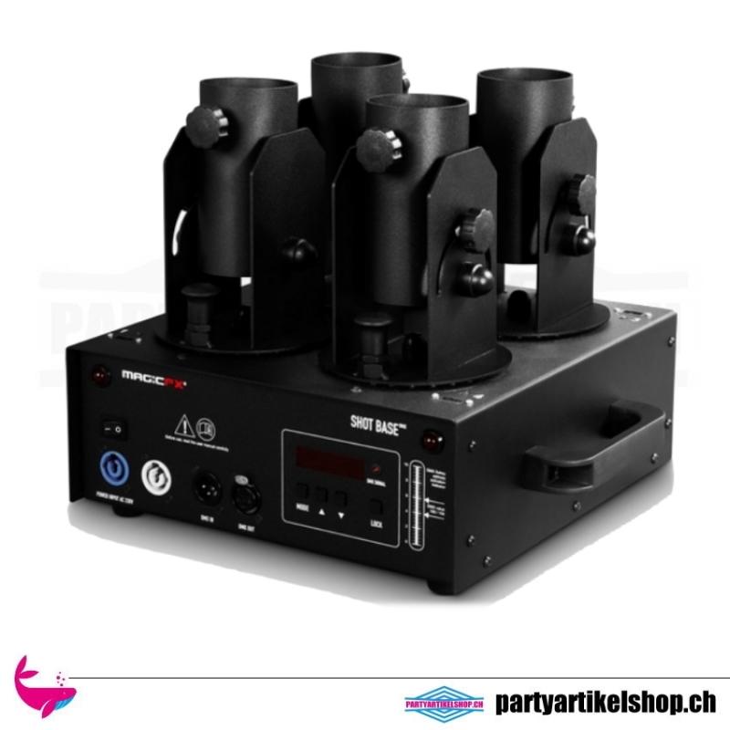 MAGICFX® Shot Base DMX - 4er Abschusseinheit für E-Konfettikanonen