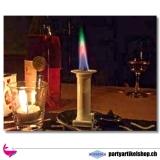 Regenbogenkerze - künstliche Kerzen mit Regenbogeneffekt