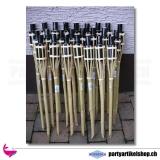 Bambus Gartenfackel ca. 90 cm für Lampenöl