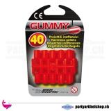 Gummi Munition 40 Stück für Spielzeugpistolen