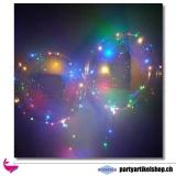 LED Ballon - Bobo Ballon - leuchtende Luftballone mit Seifenblasen
