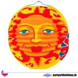 Lampion mit Sonnenmotiv 1