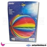 Regenbogen Rundlampion - 25cm
