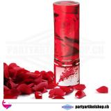 Konfettikanone Rosenregen in rot