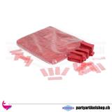 Umweltfreundliches Konfettie (Bio) Rot - 1Kg