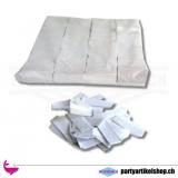 Umweltfreundliches Konfettie (Bio) Weiss - 1Kg