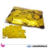 Metallic Confetties lose - Gold Sterne